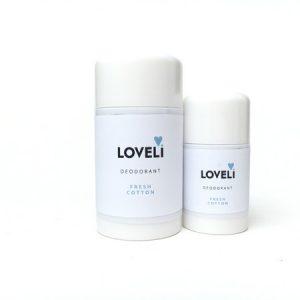 Loveli Deodorant Fresh Cotton