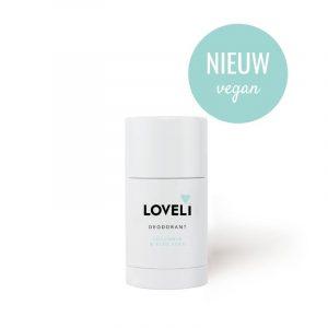 Loveli Vegan Deodorant Cucumber & Aloe Vera